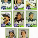 1981 Topps Traded Chicago White Sox Team Set-8 Cards