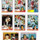 1983 Topps Chicago White Sox Team Set-28 Cards