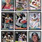 1985 Donruss Chicago White Sox Team Set-27 Cards
