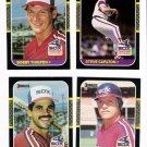 1987 Donruss Chicago White Sox Team Set-24 Cards