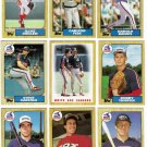1987 Topps Chicago White Sox Team Set-30 Cards