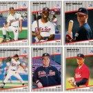1989 Fleer Update Chicago White Sox Team-6 Cards