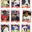 1990 Fleer Regular & Update Chicago White Sox-28 Cds