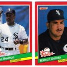 1991 Donruss The Rookies Chicago White Sox-2 Cards