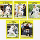 1991 Fleer Update Chicago White Sox-5 Cards