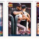 1991 Topps Traded Chicago White Sox Team Set-3 Cards
