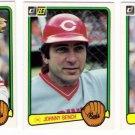 1983 Donruss Cincinnati Reds Team Set-24 Cards