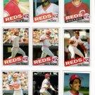 1985 Topps Cincinnati Reds Team Set-29 Card