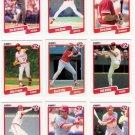 1990 Fleer Regular & Update Cincinnati Reds-29 Cds