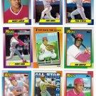 1990 Topps Cincinnati Reds Team Set-29 Card