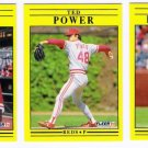 1991 Fleer Update Cincinnati Reds-3 Cards