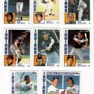 1984 Topps Cleveland Indians Team Set-24 Cards