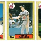 1987 Topps Traded Cleveland Indians Team Set-3 Cards