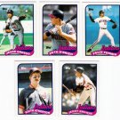 1989 Topps Traded Cleveland Indians Team-5 Cards