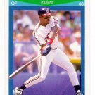 1990 Score Rising Stars Cleveland Indians-1 Cd