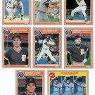 1985 Fleer Detroit Tigers Team Set-26 Cards