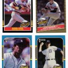 1985-87 Donruss Highlights Detroit Tigers-4 Cards