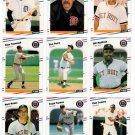 1988 Fleer Detroit Tigers Team Set-25 Cards