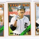 1988 Topps Traded Detroit Tigers Team Set-3 Cards