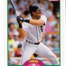 1989 Score Update Detroit Tigers Team-1 Card