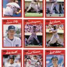 1990 Donruss Detroit Tigers Team Set-24 Cards