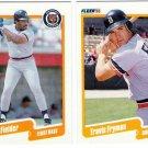 1990 Fleer Update Detroit Tigers-6 Cards