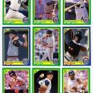 1990 Score Detroit Tigers-26 Cards