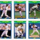 1990 Score Rising Stars Detroit Tigers-6 Cd