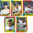 1990 Topps Traded Detroit Tigers Team Set-5 Cards