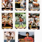 1993 Topps Detroit Tigers Team Set-27 Cards