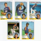1983 Topps Traded Houston Astros Team Set-5 Cards