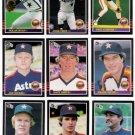 1985 Donruss Houston Astros Team Set-22 Cards