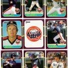 1987 Donruss Opening Day Houston Astros-10 Cd