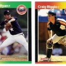 1989 Donruss Houston Astros Team Set-24 Cards