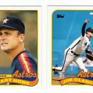 1989 Topps Traded Houston Astros Team-2 Cards