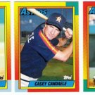 1990 Topps Traded Houston Astros Team Set-3 Cards