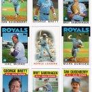 1986 Topps Kansas City Royals Team Set-29 Cards