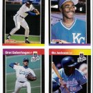 1989 Donruss Kansas City Royals Team Set-24 Cards