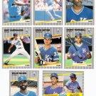 1989 Fleer Kansas City Royals Team Set-25 Cards