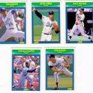1990 Score Rising Stars Kansas City Royals-5 Cd