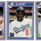 1985 Fleer Update Los Angeles Dodgers Set-3 Cards