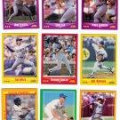 1988 Score Los Angeles Dodgers Set-27 Cards