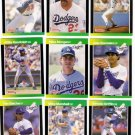 1989 Donruss Baseballs Best Los Angeles Dodgers-13 Cd