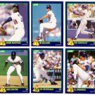 1989 Score Rising Stars Los Angeles Dodgers-6 Cd