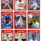 1990 Donruss Los Angeles Dodgers Set-27 Cards