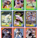 1990 Score Los Angeles Dodgers-32 Cards
