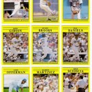 1991 Fleer Los Angeles Dodgers Set-31 Cards