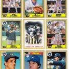 1987 Topps Milwaukee Brewers Team Set-31 Cards