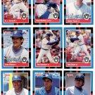 1988 Donruss Milwaukee Brewers Team Set-28 Cards