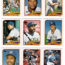 1989 Topps Milwaukee Brewers Team Set-31 Cards